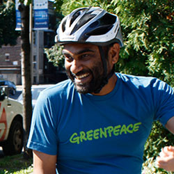 Kumi Naidoo en BIXI