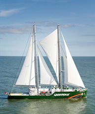 Nouveau Rainbow WArrior